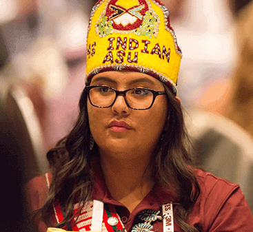 Multi-cultural woman who is participating the 50k Coalition